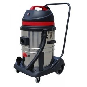aspirateur viper eau et poussi re 55l pro cuve acier chrom toutotop 39 mat riel de nettoyage. Black Bedroom Furniture Sets. Home Design Ideas