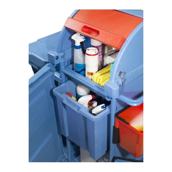 chariot de lavage numatic pc100 securise rangement produits sous clefs toutotop 39 mat riel de. Black Bedroom Furniture Sets. Home Design Ideas