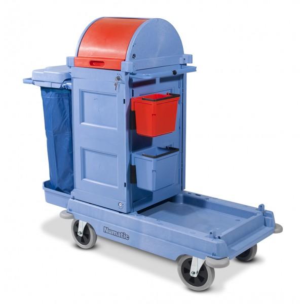 chariot de lavage numatic pc200 securise rangement. Black Bedroom Furniture Sets. Home Design Ideas