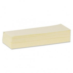 Gaze balayage humide imprégnée jaune Carton 1000 , 48g/m2 , Taux  imprégnation 18%