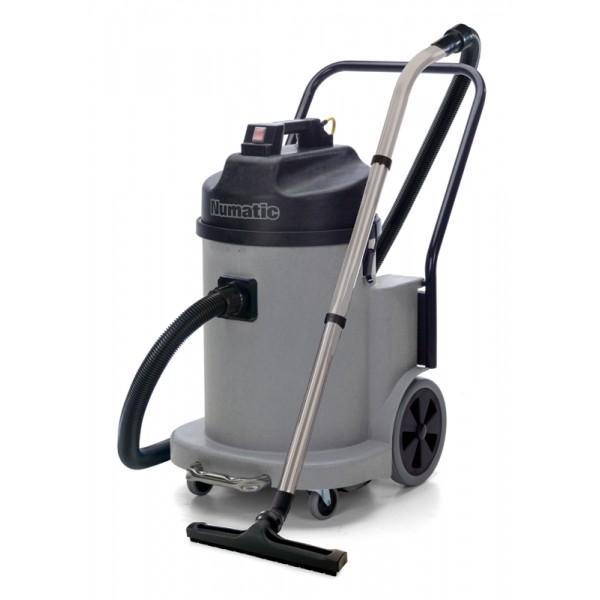 aspirateur 40l numatic pour poussi res fines ciment bois pl tre ndd 900 bi moteurs. Black Bedroom Furniture Sets. Home Design Ideas