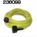 Câble jaune NUPLUG 3x1mm² ‐ 15m - NUMATIC