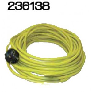 Câble jaune SANS PLUG 3x1,5mm² ‐ 15m - NUMATIC