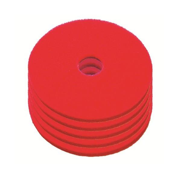 Disque de lustrage rouge diam tre 406mm carton de 5 for Produit de lustrage professionnel